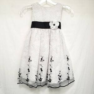 Fancy Black and White Dress from Pink Vanilla